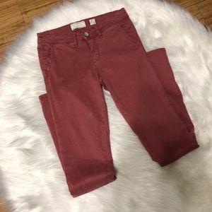 Hei Hei Anthropologie abroad santeen skinny jeans